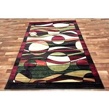 red and cream rug contemporary red area rugs black and cream rug modern circle swirl area red and cream rug