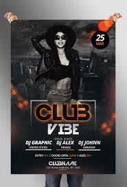 Club Flyers Address Club Vibe Free Psd Flyer Template Pixelsdesign Net