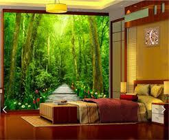 Wallpaper 3D Nature Forest Wallpaper ...