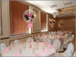 minnie mouse baby shower centerpiece ideas