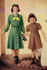 Vintage girl scouts dress