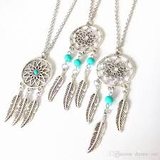 What Stores Sell Dream Catchers Hot Sale Dream Catcher Statement Necklaces Sterling Silver Jewelry 52