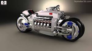 Dodge tomahawk 2003 by 3D model store Humster3D.com - YouTube