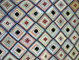 An Introduction to Identifying and Collecting Antique Quilts ... & 1940s variation on the postage stamp style quilt Adamdwight.com