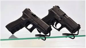 Handgun Display Stand GunShelf Gun Display Stands and Accessories Gun Shelf 5