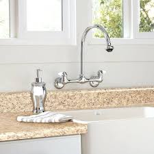 wall mount faucets kitchen wall mount faucet wall mount kitchen faucet with pull down sprayer