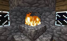 How To Build A Brick Fireplace And Chimney Photo Stonetutorials Fireplace In Minecraft