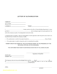 Passport Authorization Letter Stunning Authorization Letter Format To Process Documents Com From Parents