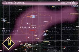 Star Trek Galaxy Chart A Map Of The Gamma Quadrant Home Of The Dominion Star