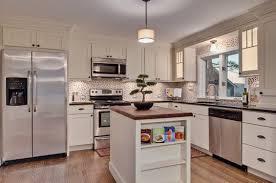 Efficient Kitchen Design Features Classic Shaker Cabinets