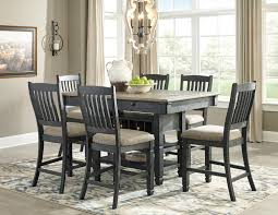 gray dining room table. Ashley D736 Tyler Creek Counter Height Table Gray Dining Room H