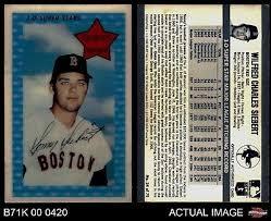 Trading Cards Card 1971 Kellogg's 3-D Super Stars #24.1 Sonny Siebert  XOGRAPH No Date Sammeln & Seltenes careernama.com
