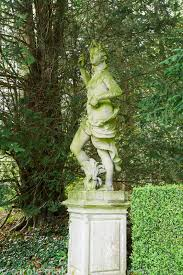 CAROLE DRAKE | Statue of Bacchus sited in a semicircular glade once Charles  Bridgeman's turf amphitheatre. Rousham House, Bicester, Oxon, UK