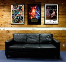 star wars framed posters