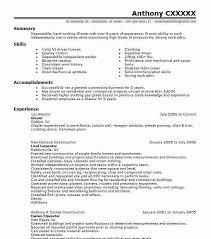 30 Glaziers Resume Examples In New Jersey Livecareer