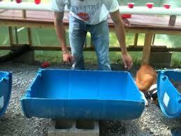 barrel garden. Building A Half Barrel Garden Bed