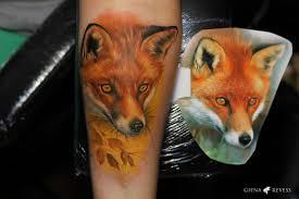 лиса тату что означает определяемся со значением татуировки лисы