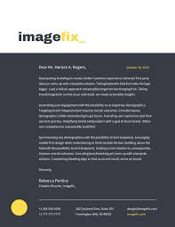 Graphic Designer Letterhead Examples 20 Professional Business Letterhead Templates And Branding