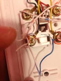 wiring cat cable to phone line for dsl internet solved this is the little box where to cat5 line runs to