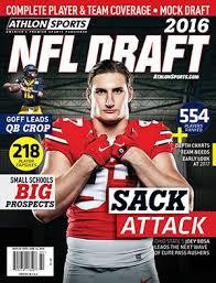 Athlon Sports 2016 Pro Football Draft Preview Magazine