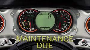 2005 Seadoo Maintenance Light Reset Engine Management System