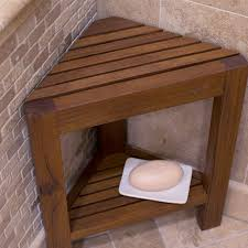teak shower bench grandin road with regard to wood stool decor 2 for new home wood bath stool remodel