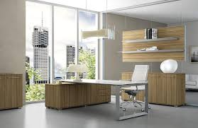 home office design inspiration. Fantastic Small Modern Home Office Design Ideas With Light Wood File Cabinets And Glass Top Steel Base Table Also Swivel Chair In Inspiration
