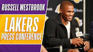 Russell Westbrook Lakers Intro Press ...