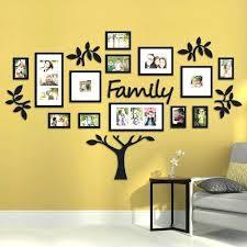 family frames wall decor photo frame wall decor ideas astonishing cool to display family photo frame