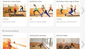 a small sling of the types of cles that barre3 offers