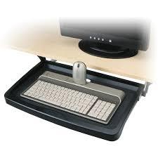 innovera standard underdesk keyboard drawer 21 3 8 w x 12 7 8 d black com