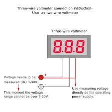 wire voltmeter wiring diagram com wire voltmeter wiring diagram example