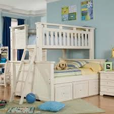 twin over full bunk bed with stairs. Twin Over Full Bunk Bed With Stairs White