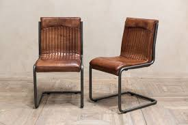 ebay uk faux leather dining chairs. industrial look dining chair vintage style tan leather ebay uk faux leather dining chairs