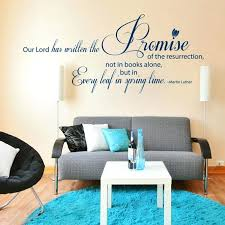wall phrase decals clever ideas wall writing decor art design life is not about waiting for