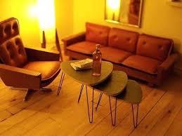 mid century modern dollhouse furniture. Mid Century Modern Dollhouse Kit Furniture Need Those Stacking Hairpin E