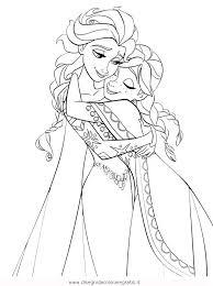 Disegno Frozen Elsa4 Personaggio Cartone Animato Da Colorare