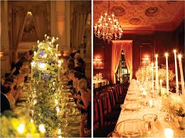 Some elements that define this style are: five arm candelabras, draped  silk, gold everything, ornate detailing (think rococo era), hand-written  calligraphy, ...