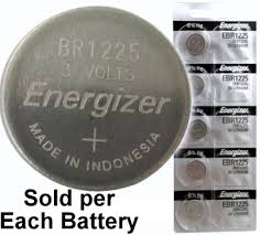 Energizer Ebr1225 Br1225 Cr1225 Lithium Coin Cell On