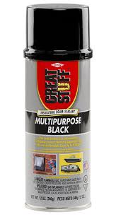 exterior spray foam sealant. this multipurpose foam sealant can be used to fill gaps and cracks all around the home, in marine automotive applications. exterior spray t