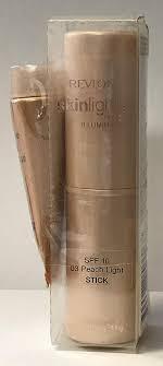 Revlon Skinlights Peach Light Revlon Skinlights Face Illuminator 03 Peach Light Stick 0 40 Oz 11g