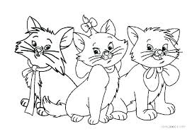 Color these cute beings with our free printable kitten coloring pages. Cats Coloring Pages Idea Whitesbelfast