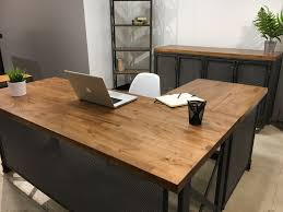 office desk modern. Magnificient L Shape Office Desk Ideas : Simple 12623 Modern Industrial Design For Mercial And Residential Use
