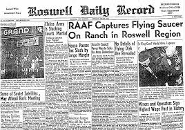 Pieces Of Roswell Flying Saucer First Flown To Fort Worth