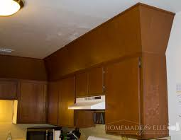kitchen paneling before