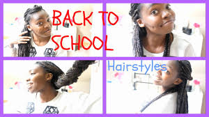 Box Braid Hair Style back to school hairstyles box braids youtube 3797 by wearticles.com