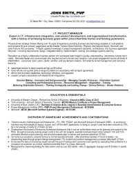 Example Of Executive Resume Magnificent Construction Project Manager Resume Management Samples Managing