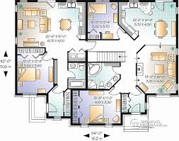 3 unit multi family house plans elegant multi family house plans triplex luxury plans multi family