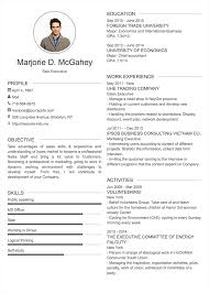 Cv Exemplars Professional Resume Cv Templates With Examples Topcv Me