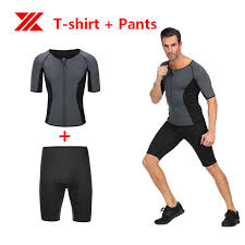 HEXIN Neoprene Sauna Slimming <b>Body Shaper</b> Vest Pants <b>Suits</b> ...